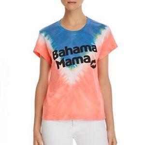 NEW Wildfox Bahama Mama Tie Dye Tee